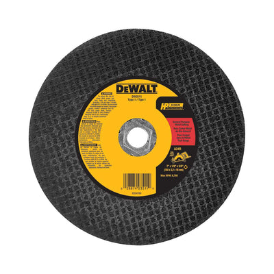 DeWalt 7 In. HP Metal Cutting Abrasive Saw Blade Type 1