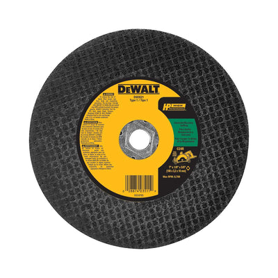 DeWalt 7 In. HP Masonry Cutting Abrasive Saw Blade Type 1