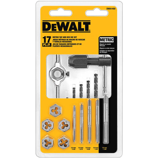 DEWALT 17-Pc. Metric Tap & Die Set