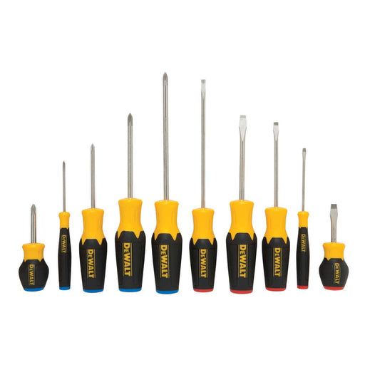 DEWALT 10 Pc Screwdriver Set