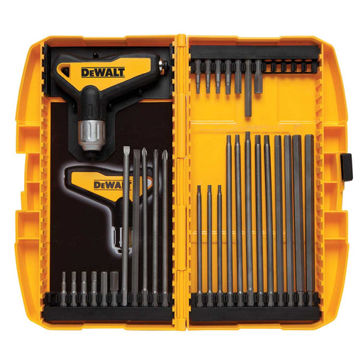 DEWALT 31 pc Ratcheting T Handle Hex Key Set