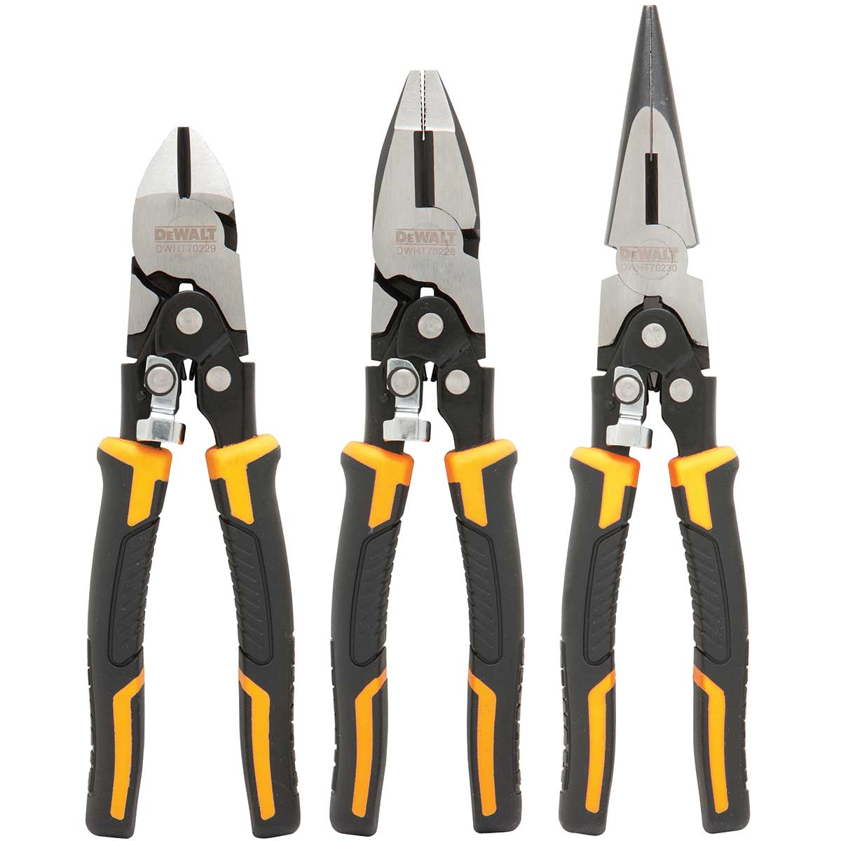 DeWalt Compound Pliers 3 Pack