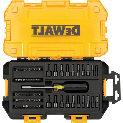 "DEWALT 70 pc 1/4"" Multi-Bit & Nut Driver Set"