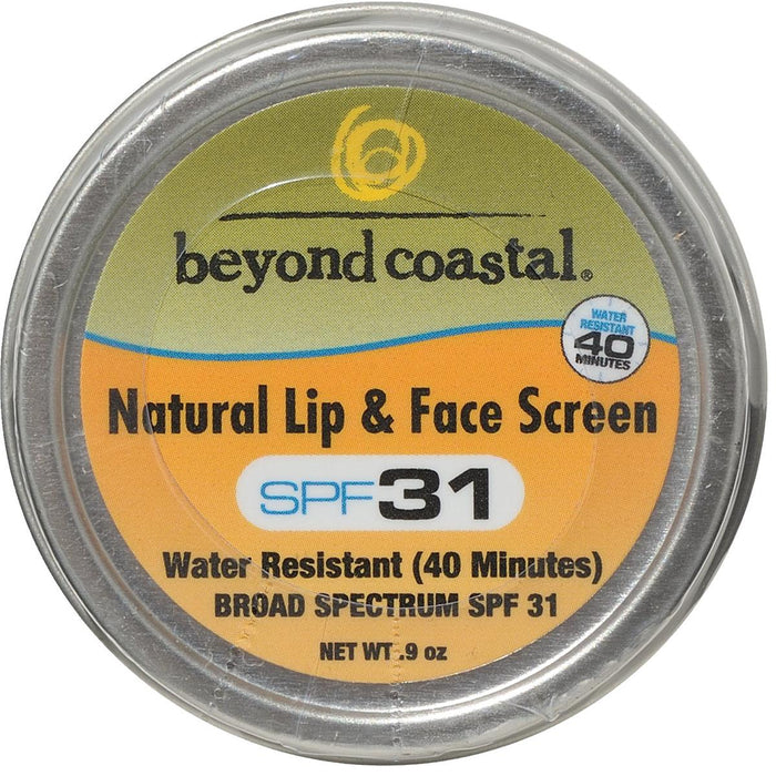 Beyond Coastal® SPF 31 Natural Lip & Face Sunscreen