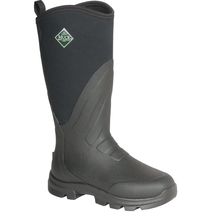 "MUCK® 15""H Plain and Steel Toe Grit Work Boots"
