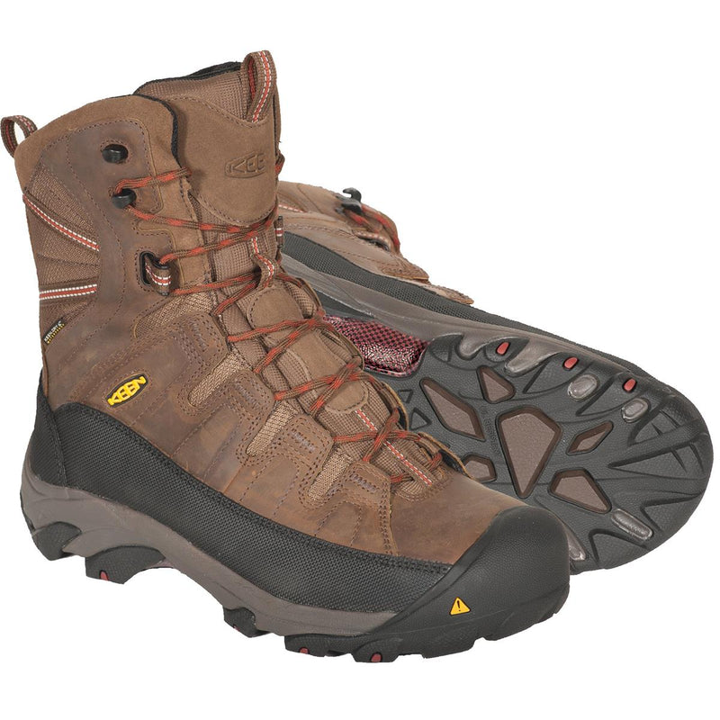 KEEN Minot Insulated Waterproof Steel Toe Work Boots