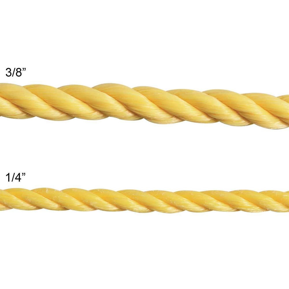 Bulk Twisted Polypropylene Rope