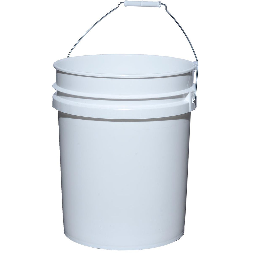 5-Gal  High-density Polyethylene Pails