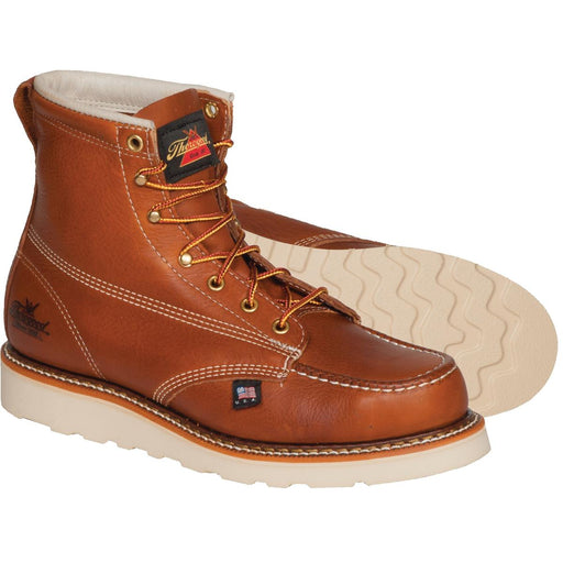 "Thorogood American Heritage 6""H Wedge Sole Moc Toe Boots"
