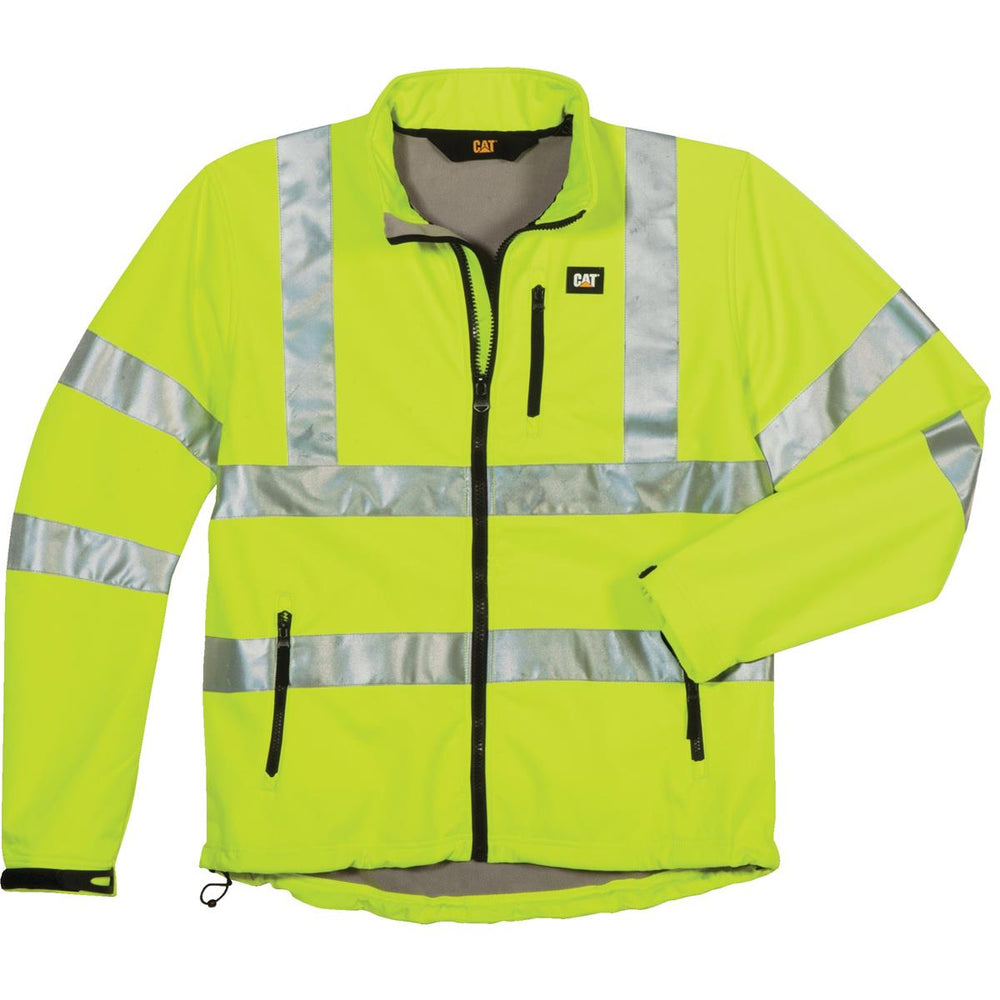 CAT ANSI Class 3 Hi-Vis Softshell Jacket