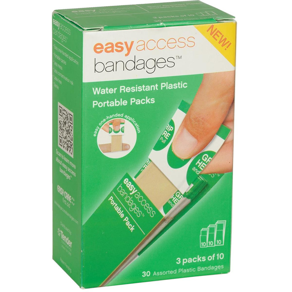 Easy Access Bandages® Assorted Plastic Bandages