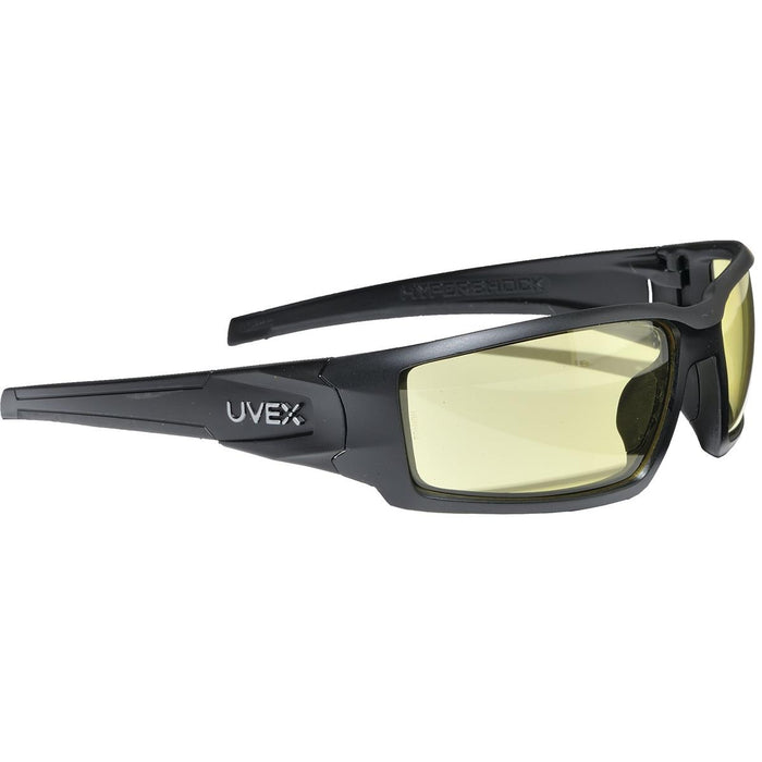 UVEX BY HONEYWELL Hypershock™ Safety Glasses with Anti-Fog Lens and Black Frame