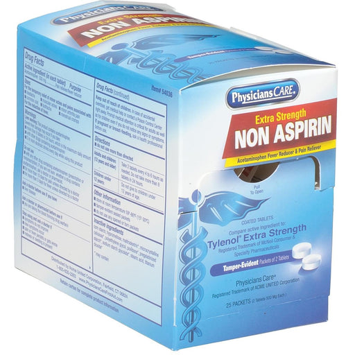 PhysiciansCare® Non-Aspirin Tablets