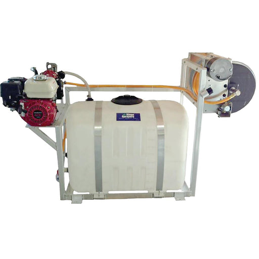 100-gal. SpaceMaker Skid Sprayer with Electric Hose Reel