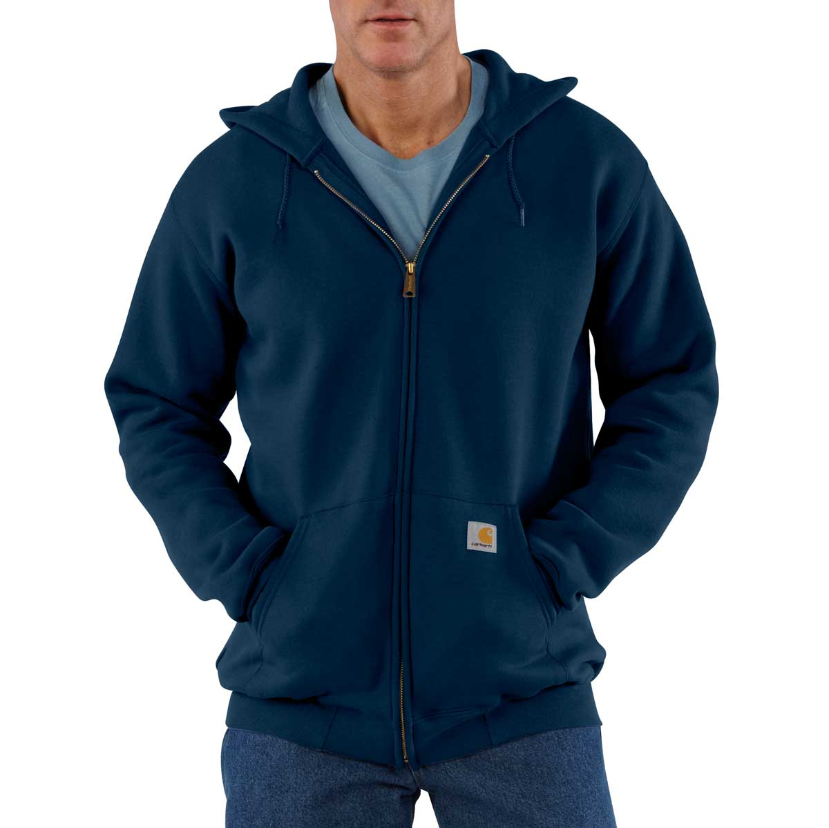 Carhartt K122 Zip-Front Hooded Sweatshirt