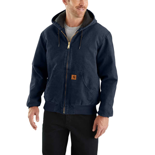 Carhartt Flannel-Lined Sandstone Duck Active Jac