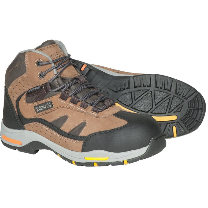 "Rockport 6""H Composite Toe Lightweight Hikers"