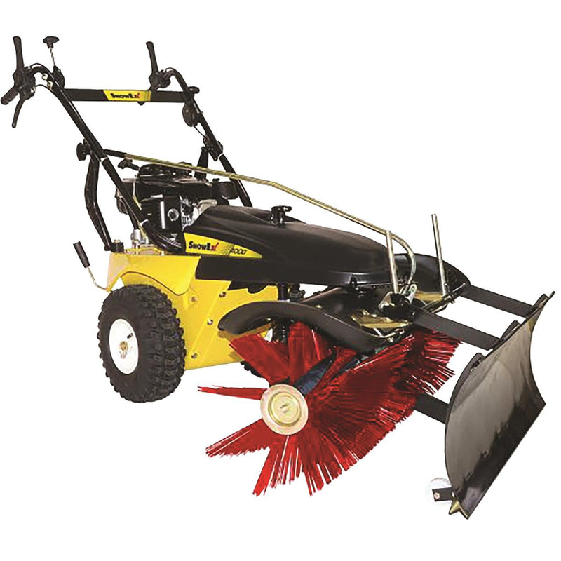 Rotary Broom Sweeper with Plow