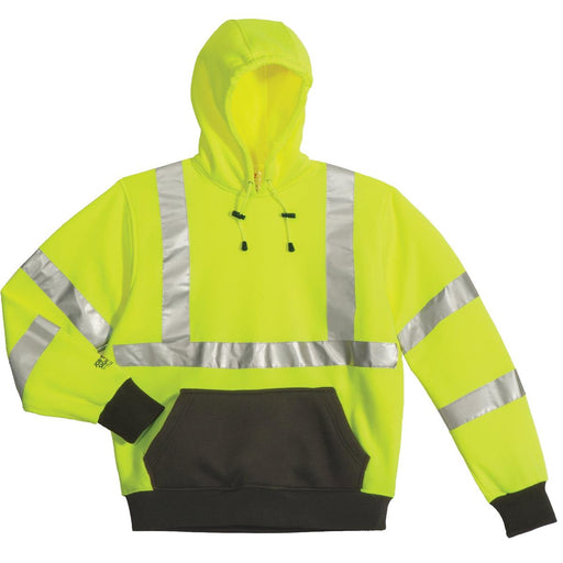 Tingley Class 3 Hi-Vis Pullover Hooded Sweatshirt