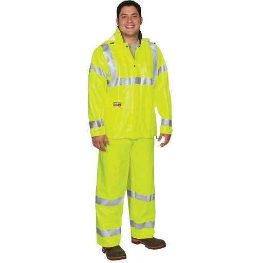 Tingley Eclipse™ Hi-Vis Flame-Resistant Rain Jacket