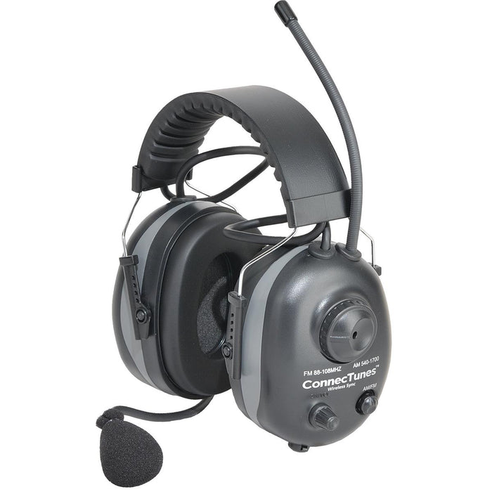 Wireless Sync Over-the-Head AM/FM Earmuffs