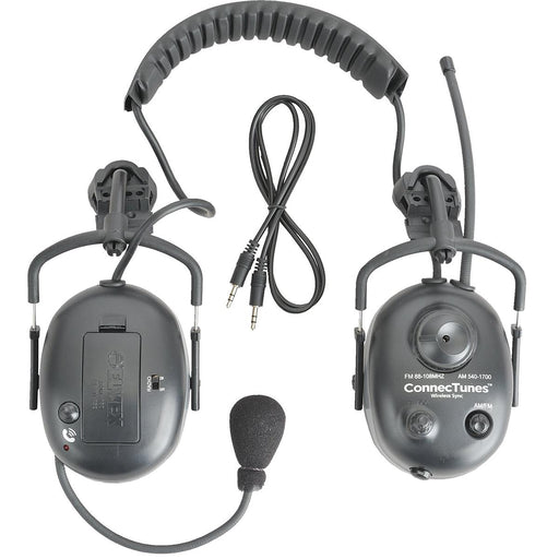 Elvex ConnecTunes™ Wireless Sync AM/FM Cap-Mounted Earmuffs