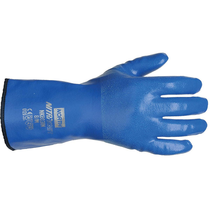 "North 12""L Insulated Nitrile Gloves"