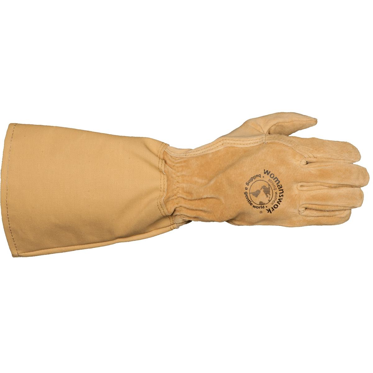 Women's Thorn-Stopping Pigskin Rose Gloves