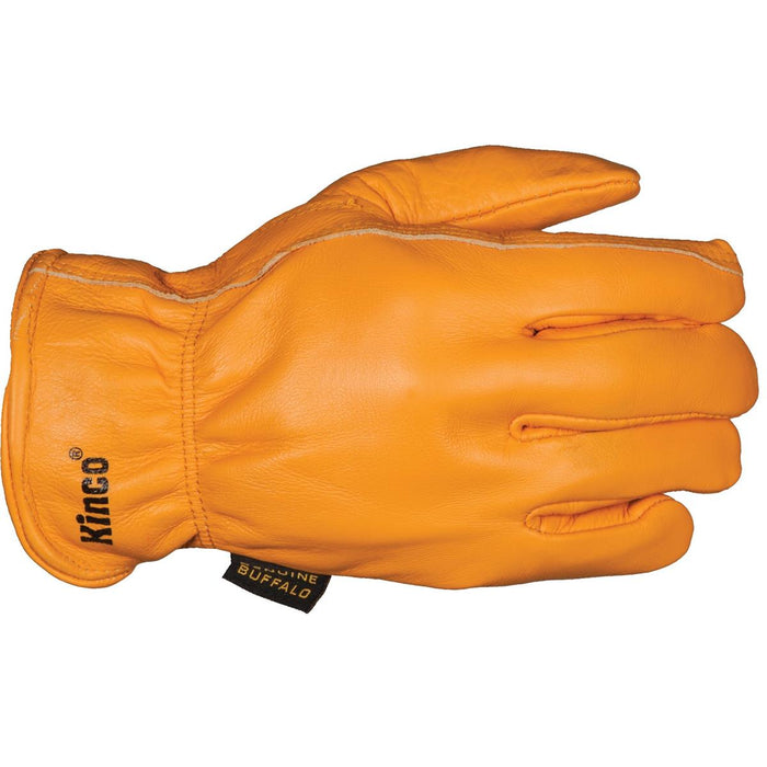 Kinco Insulated Buffalo Leather Driver's Gloves
