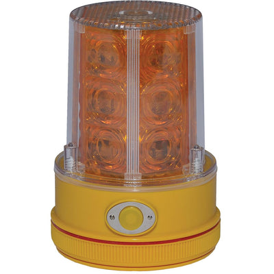 Battery-Powered, Ultra-Bright LED Strobe with Heavy-Duty Magnet