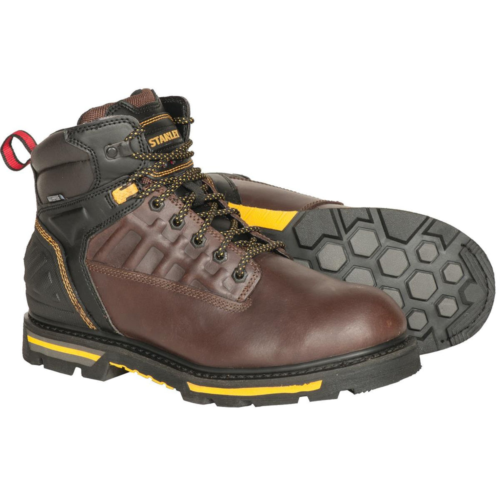 "Stanley Secure 6""H Waterproof Leather Boots"
