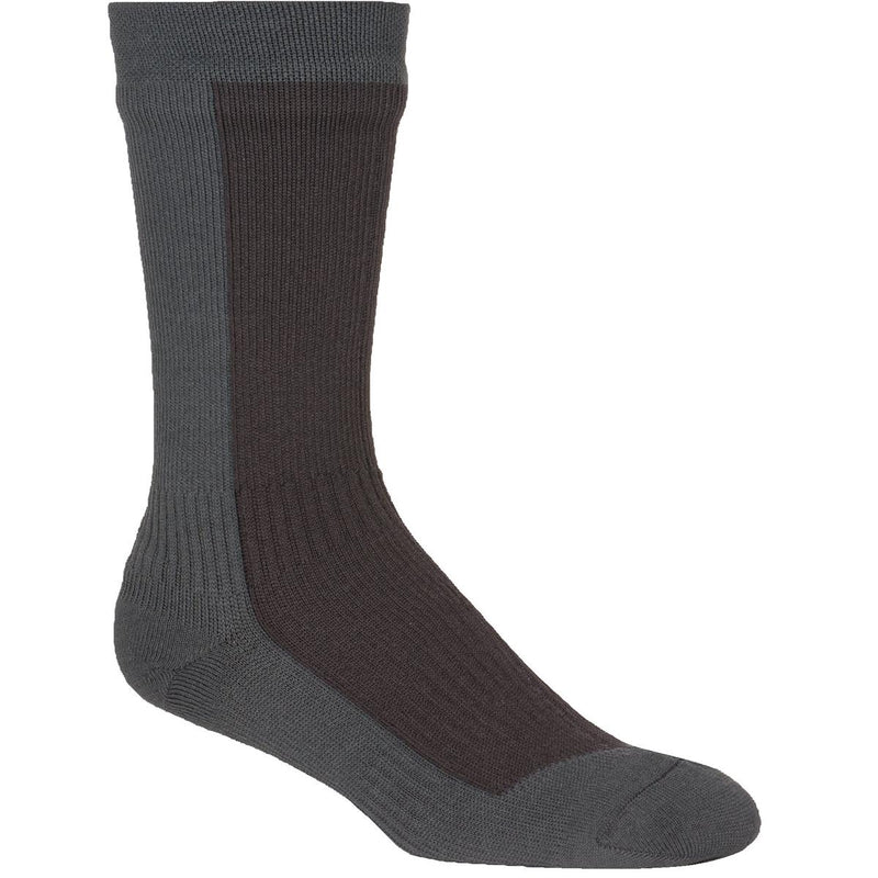 Sealskinz Stretchdry Waterproof Mid-Length Cool Weather Socks, 1 Pair