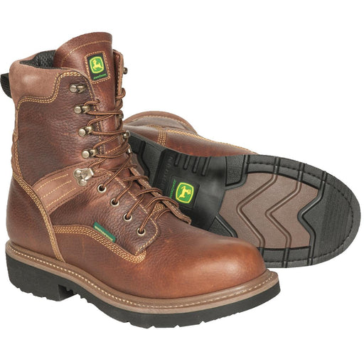 "John Deere All-Around Series 8""H Waterproof Work Boots"