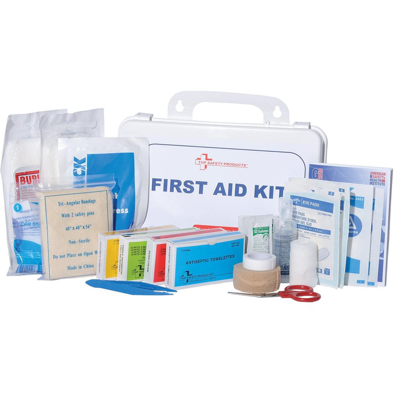 ANSI-Compliant 16-Unit Class-A First Aid Kit