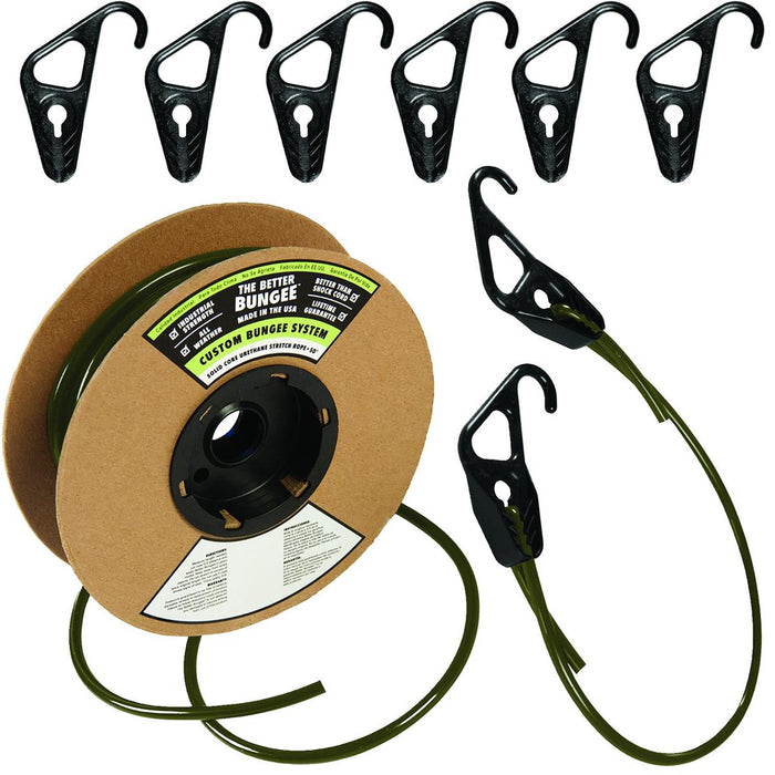 The Better Bungee™ 50'L Bulk Bungee Cord