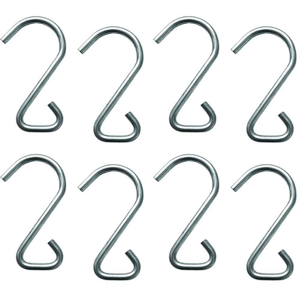 The Better Bungee™ Repl. Stainless Steel Triangle Hooks, Pkg. of 8