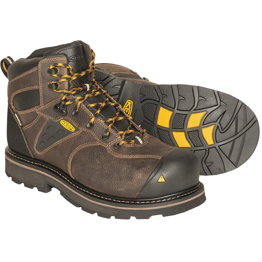 "KEEN Tacoma 6""H Waterproof Composite-Toe Work Boots"