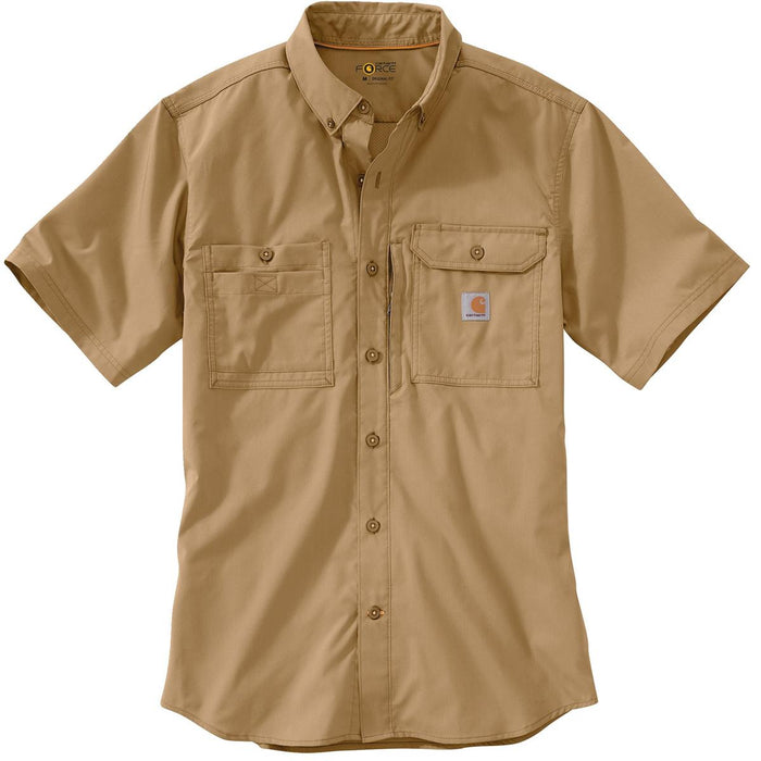 Carhartt Force® Ridgefield Short-Sleeve Shirt, 102417