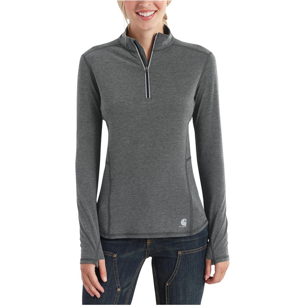 Carhartt 102528 Force Ferndale Women's Quarter-Zip Shirt