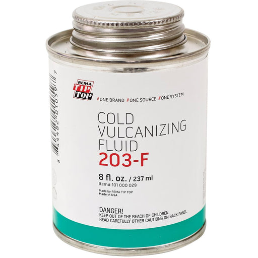 Cold Vulcanizing Cement, 8 oz. Brush-Top Can