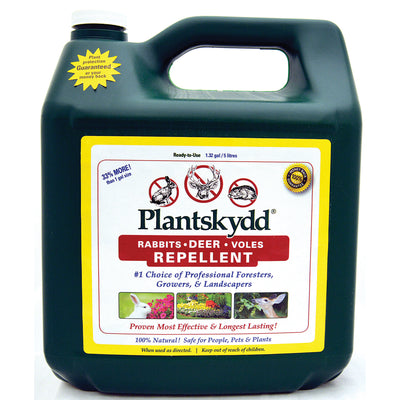 Plantskydd Ready-to-Use Animal Repellent, 1.32 gal.