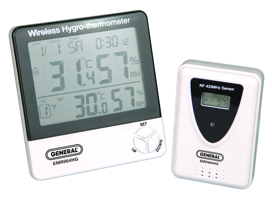 Wireless Temperature and Humidity Monitor