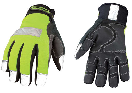 Youngstown Hi-Vis Waterproof Insulated Utility Gloves