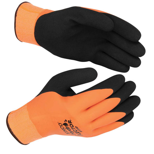 Kinco Orange Hydroflector Lined, Double Coated Glove