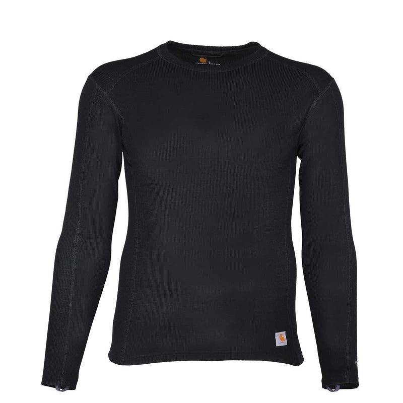 Carhartt Mens Base Force 100/% Cotton Midweight Classic Crew Base Layer Top