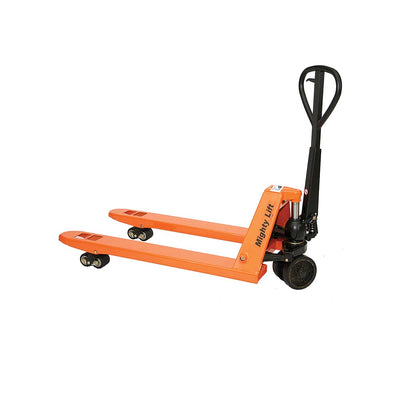 "Mighty Lift Premium High-Capacity 11,000-lb. Pallet Jack, 27"" x 48"""