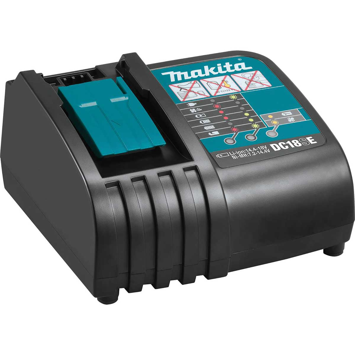 Makita DC18SE 18V LXT® Lithium-Ion Optimum Automotive Charger