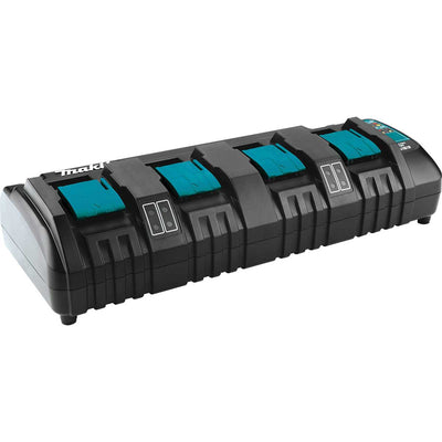 Makita DC18SF 18V LXT® Lithium-Ion 4-Port Charger