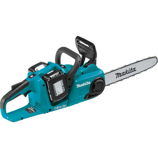 "Makita 18V X2 (36V) LXT® Lithium-Ion Cordless 14"" Chain Saw Kit with 4 Batteries (5.0Ah)"