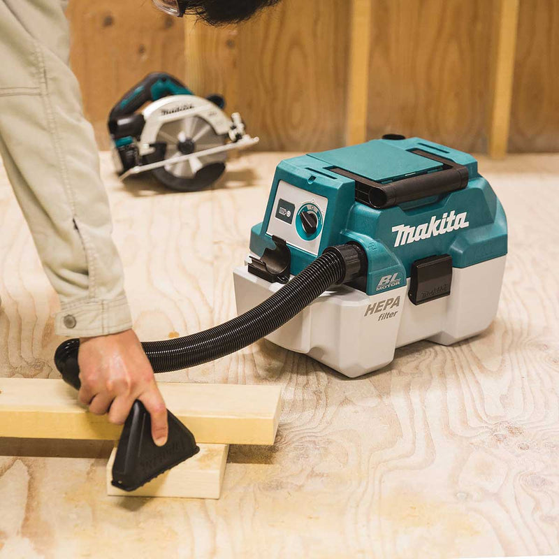 Makita XCV11Z 18V LXT® Lithium-Ion 2 Gallon Wet/Dry Vacuum, Tool Only